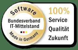 auszeichnung software made in germany von bundesverband it-mittelstand