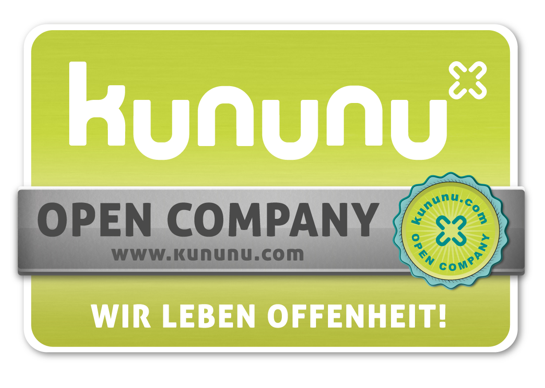 kununu Auszeichnung als open company