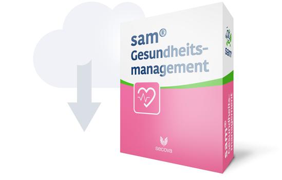 sam gesundheitsmanagement softwarebox